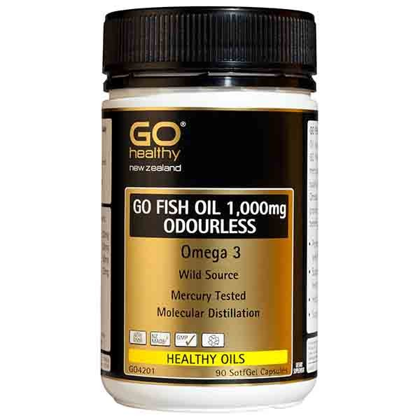 Go healthy fish oil 1 500mg odourless supplement review for Fish oil reviews