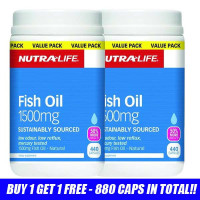 Nutra life fish oil essential fatty acids health for Fish oil supplements reviews