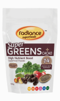 Radiance SuperGreens + Cacao Review