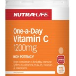 Nutra-life Vitamin C 1200mg 120 Chewable