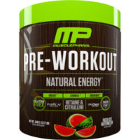 Musclepharm Natural Series Pre-workout Review