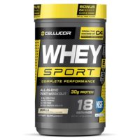 Cellucor Whey Sport Protein Review