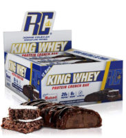 Ronnie Coleman King Whey Protein Crunch Bar Box Of 12 Review