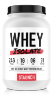 Staunch Nutrition Whey Protein Isolate Review