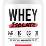 Staunch Nutrition Whey Protein Isolate