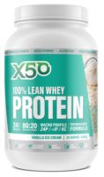 X50 100% Lean Whey Protein Review