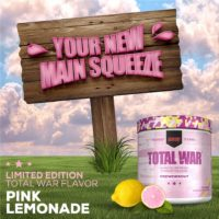 Total War Pink Lemonade Pre-workout – Limited Edition Review