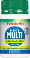 Healtheries Mens Multi + Probiotic Review
