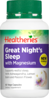 Healtheries Great Night Sleep + Magnesium Review