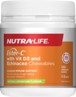 Nutra-Life Ester-C + Vitamin D Chewable Review
