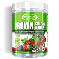 Gaspari Proven Greens & Reds – Superfood Powder Review