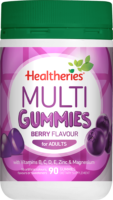 Healtheries Adult Gummies Multi 90s Review