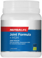 Nutra-Life Joint Formula + MSM Review