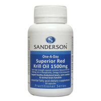 Sanderson Superior Red Krill Oil Review